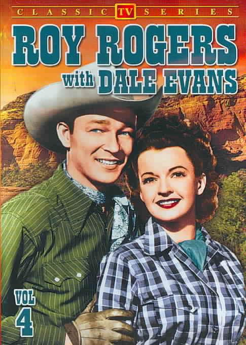 ROY ROGERS WITH DALE EVANS VOL 4 BY ROY ROGERS SHOW (DVD)